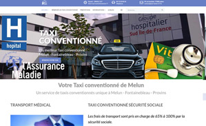 Creation Site Taxis Conventionne