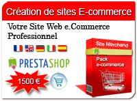 creation site e-commerce prestashop