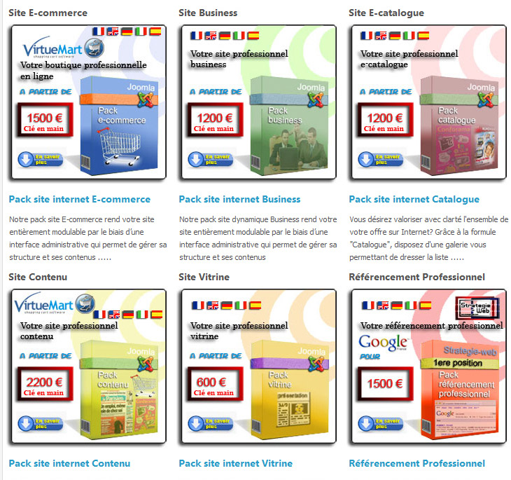 agence web strategie-web création de site internet